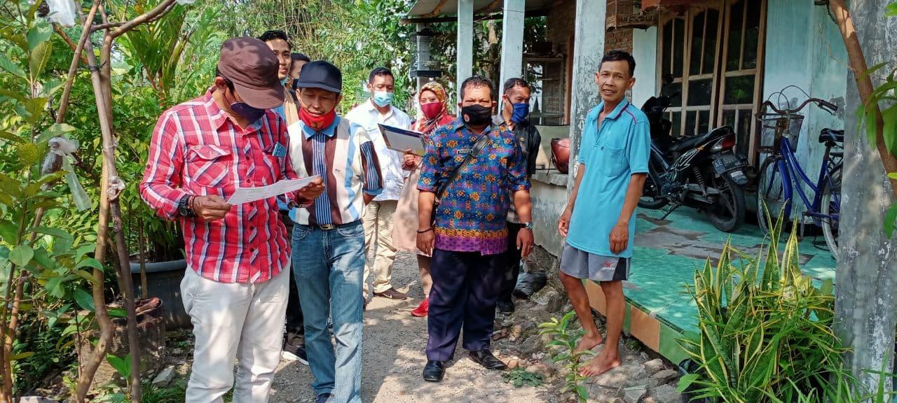 Cheking Lokasi pada Mapping Rencana Pembangunan Drainase Rt20-Rw05